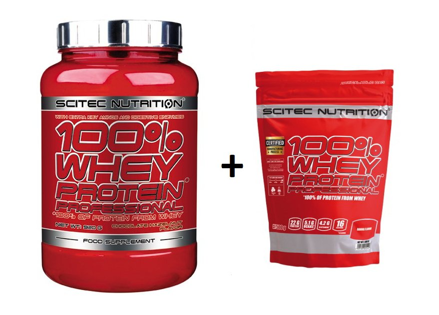 100% Whey Protein Professional - Scitec Nutrition 2350 g Orange+Čokoláda