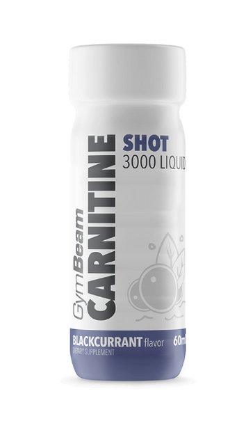 Carnitine Shot 3000 Liquid - GymBeam 60 ml. Blackcurrant