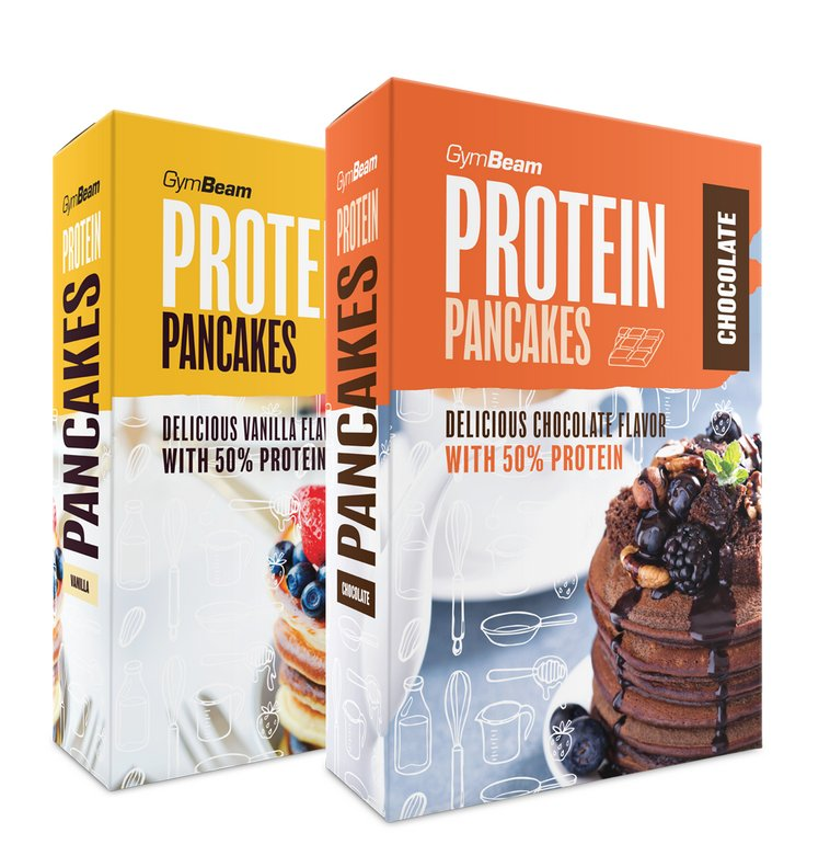 Protein Pancake Mix - GymBeam 500 g Chocolate