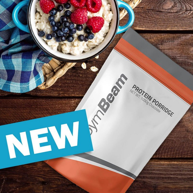 Protein Porridge - GymBeam 1000 g Strawberry