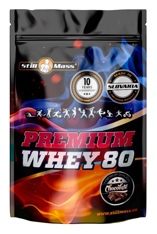 Premium Whey 80 - Still Mass 1200 g Chocolate