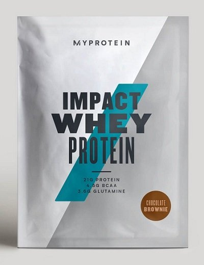 Impact Whey Protein - MyProtein 1000 g Chocolate Brownie