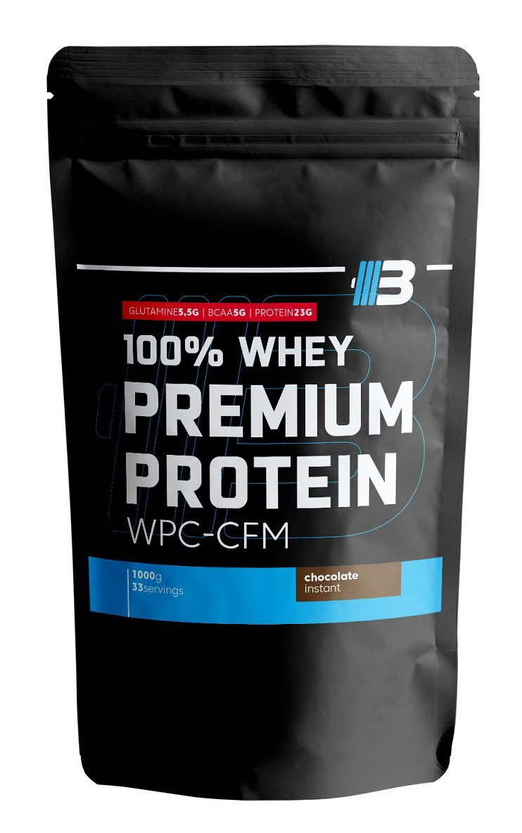 100% Whey Premium WPC-CFM - Body Nutrition 1000 g Chocolate