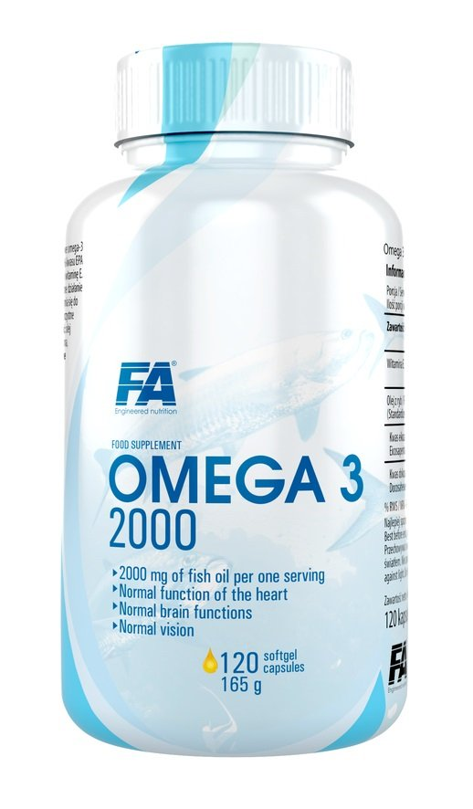 Omega 3 2000 - Fitness Authority 120 softgels