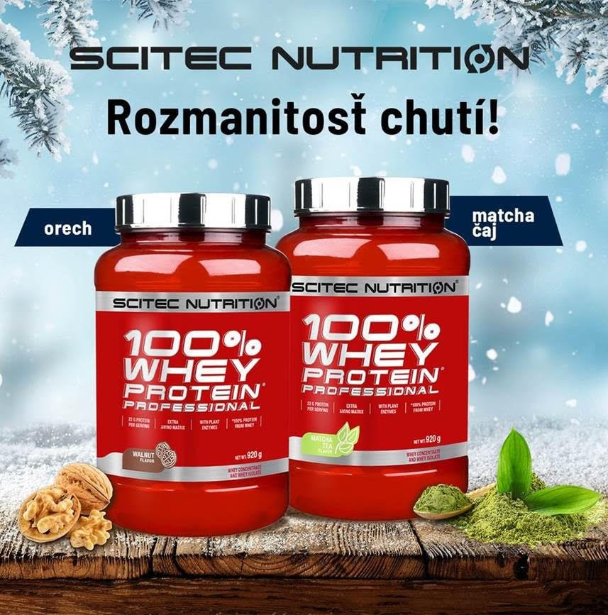 100% Whey Protein Professional - Scitec Nutrition 2350 g Banán