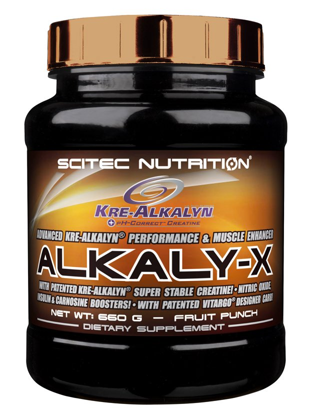 Alkaly-X - Scitec Nutrition 660 g Fruit Punch