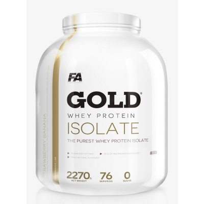 Gold Whey Isolate - Fitness Authority