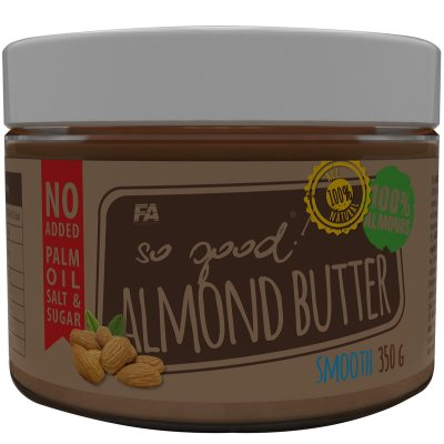 Mandľové maslo: Almond Butter - Fitness Authority