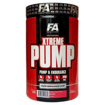 Xtreme Pump Caffeine Free - Fitness Authority