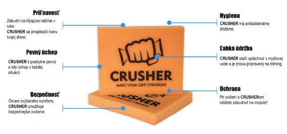 crusher grip popis