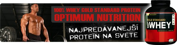 Reklamny baner 100% Whey Protein od ON