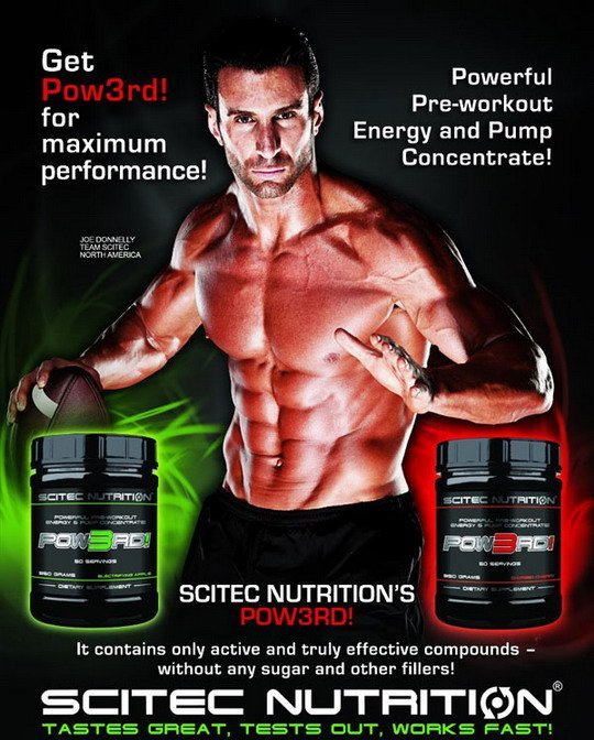 reklamny baner scitec nutrtition power
