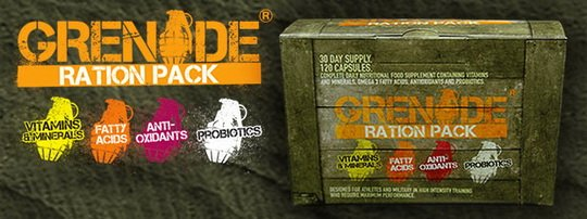 Reklamny baner Grenade Ration Pack