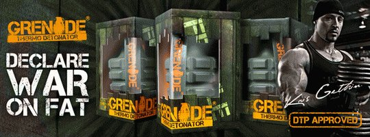 Grenade - declare war on fat