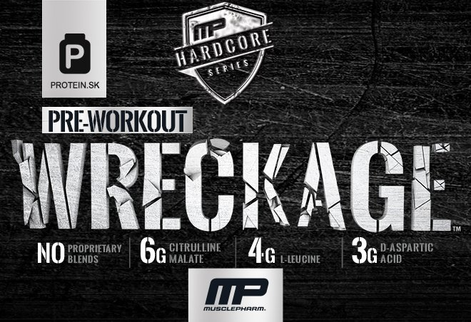 baner wreckage hardcore od MP